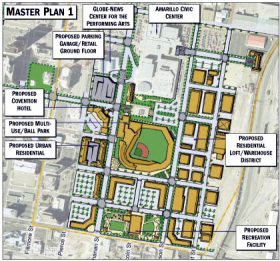 Downtown Amarillo Inc Master Plan 1