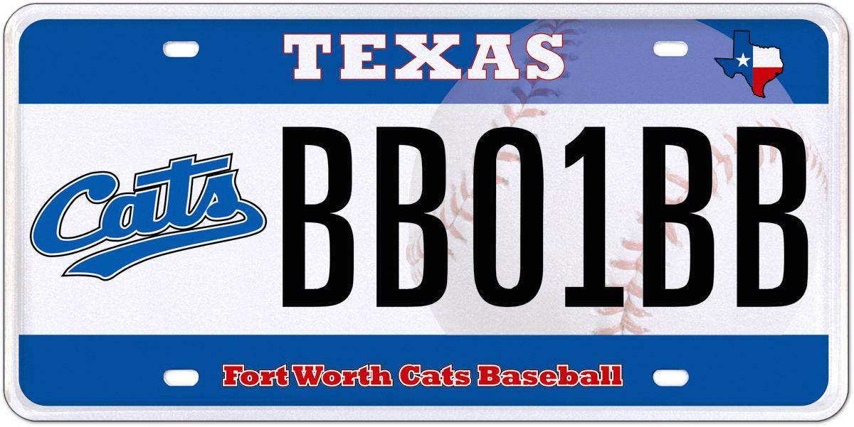 cats team license plate coming soon. Black Bedroom Furniture Sets. Home Design Ideas