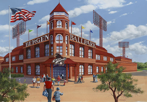 Bergen Ballpark Rendering