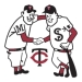 Minnesota Twins Minnie and Paul Logo