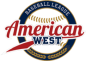 American West Baseball League Logo