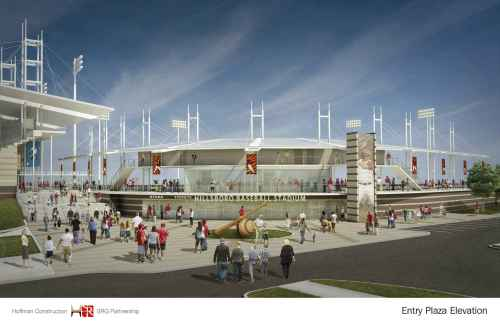 Hillsboro Baseball Stadium Rendering Hoffman Construction SRG Partnership
