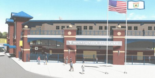 West Virginia Ballpark Rendering
