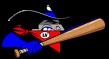 Las Vegas Train Robbers Cap Logo