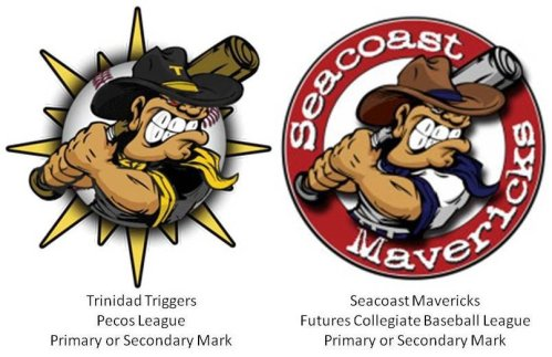 Trinidad Triggers and Seacoast Mavericks Marks