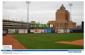 Akron Aeros Video Board 2