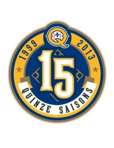 Quebec Capitales Anniversary Logo 2