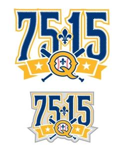 Quebec Capitales Anniversary Logo 3