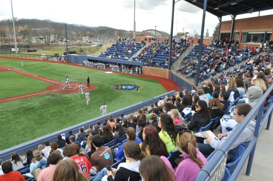 Eastern Tennessee State University >> East Tennessee State University Stadium From Facebook 2 15 13