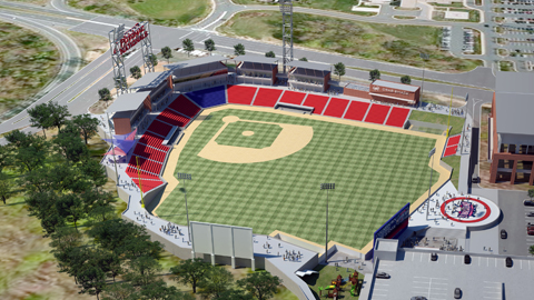 New Stadium Potomac Nationals New Stadium