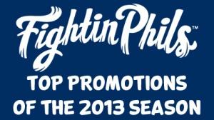 Reading Fightin Phils 2013 Promos