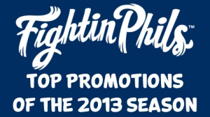Reading Fightin Phils 2013 Promos