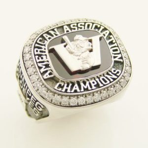 American Association Championship Ring - Winnipeg Goldeyes Facebook Photo