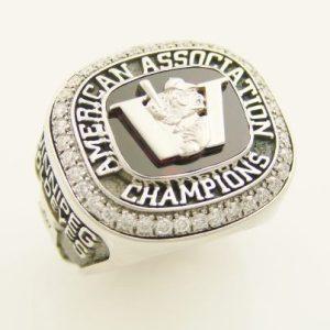 American Association Championship Ring - Winnipeg Goldeyes Facebook Photo