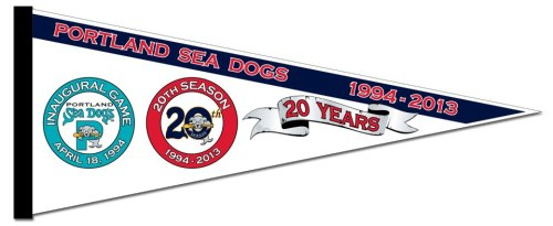 Portland Sea Dogs 20th Pennant