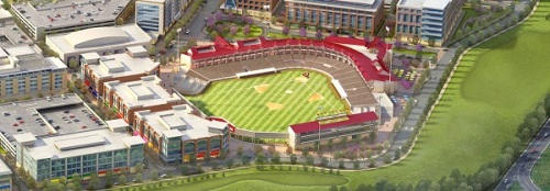 Loudoun Hounds Ballpark Groundbreaking Rendering