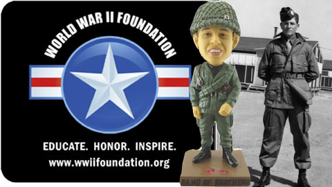 Lowell Spinners Band of Brothers Bobble