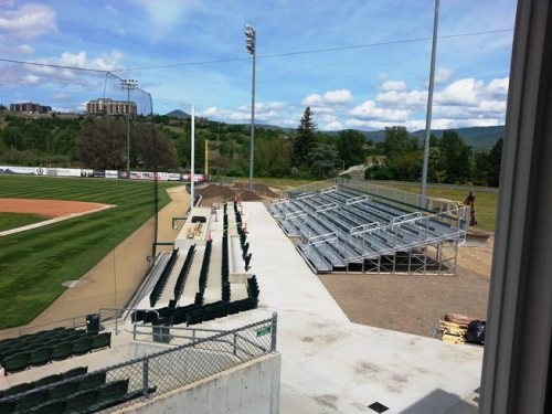 Medford Rogues Stadium Upgrades 1