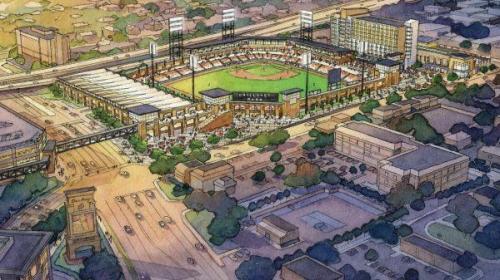 Biloxi Ballpark Rendering
