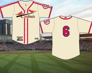 Springfield Cardinals Musial Tribute Jerseys