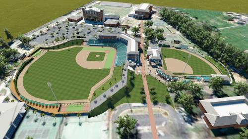 Coastal Carolina Renovated Stadium Rendering