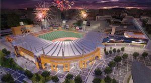 Colorado Springs Sky Sox Downtown Ballpark Rendering