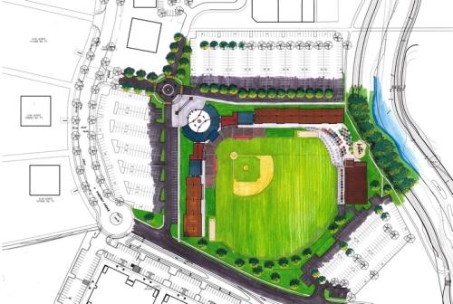 Elkhart County Miracle Stadium Rendering