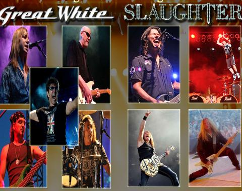 Missoula Osprey Great White and Slaughter Concert