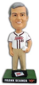Richmond Flying Squirrels Frank Beamer Bobblehead