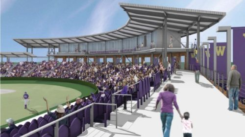 Washington Huskies New Ballpark Rendering 3