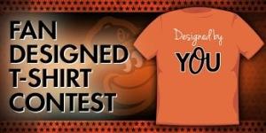 Baltimore Orioles Fans Design T-Shirt