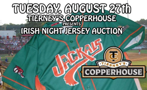 New Jersey Jackals Irish Night