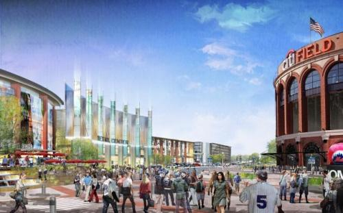 New York Mets Willets Point Mega Mall Project