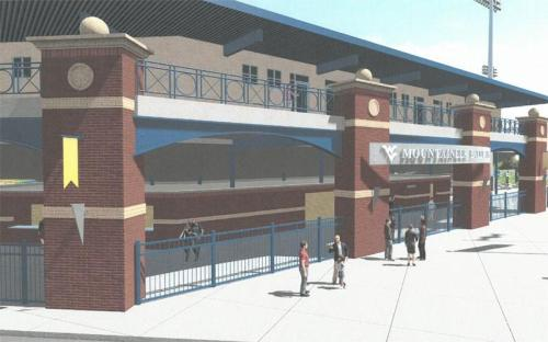 West Virginia University Stadium Rendering