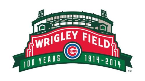 Chicago Cubs Wrigley Field 100th Anniversary Logo