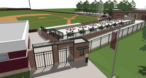 Southern Illinois University Salukis New Stadium Rendering