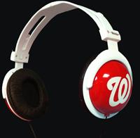 Washington Nationals Headphones