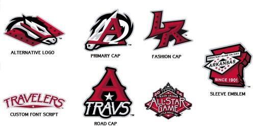 Arkansas Travelers New Logos