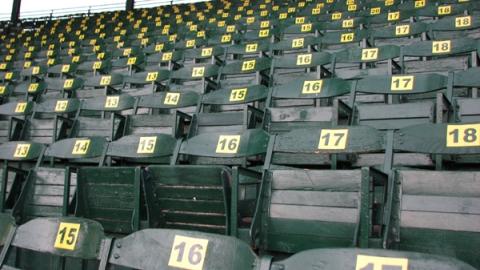 Centennial Field Wooden Seats