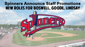Lowell Spinners Staff Promotions