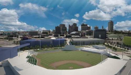 Nashville Sounds Ballpark Rendering