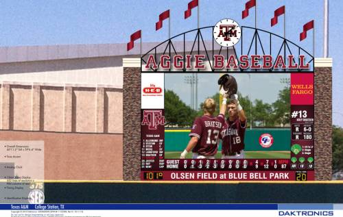 Texas A&M New Video Board