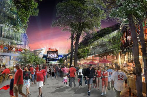 Atlanta Braves New Ballpark Rendering 2