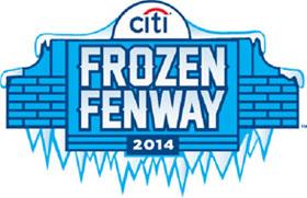 Boston Red Sox Frozen Fenway Logo