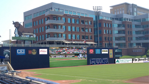 Durham Bulls New Video Boards