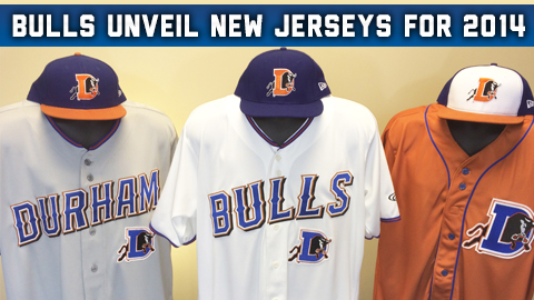 Durham bulls Unveil New Unis