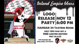 Inland Empire 66ers New Logo Unveiling