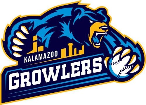 Kalamazoo Growlers Primary Logo