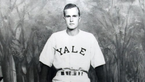 National College Baseball Hall of Fame George Bush