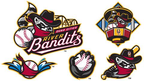 Quad Cities River Bandits New Logo Set